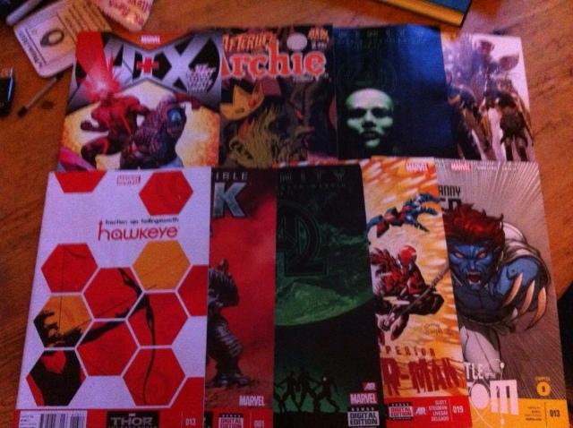 Comics 16 October 2013