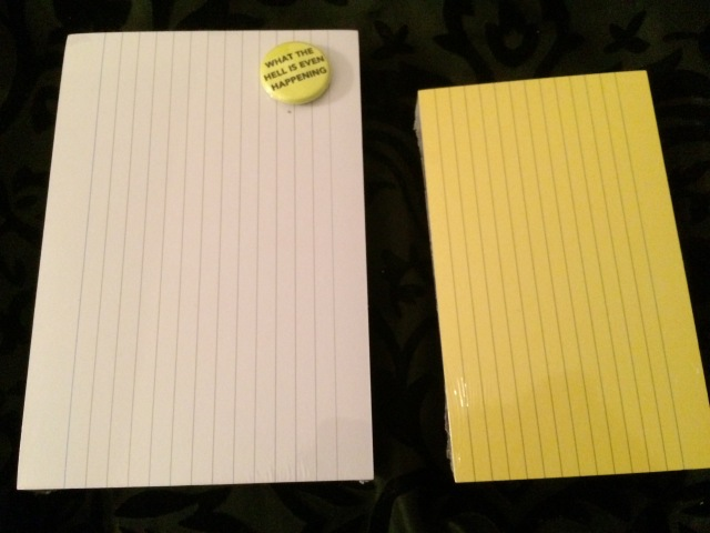 NaNoWriMo My Index Card Addiction