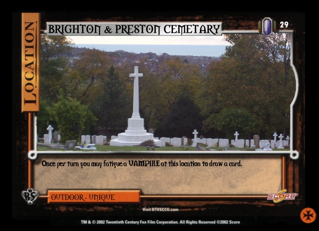 Brighton and Preston cemetary
