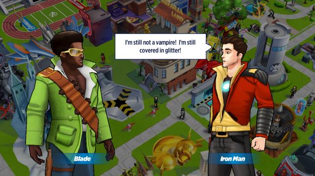 Tony and Blade